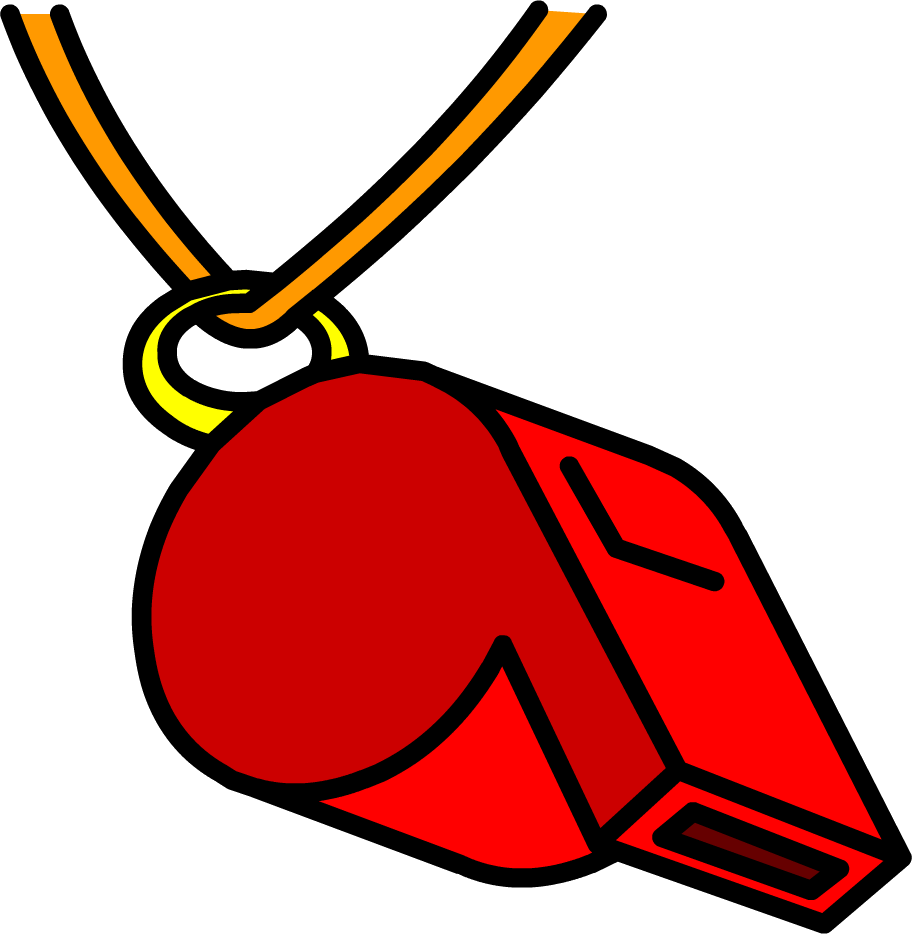 Club clipart number 1. Whistle sweet looking image