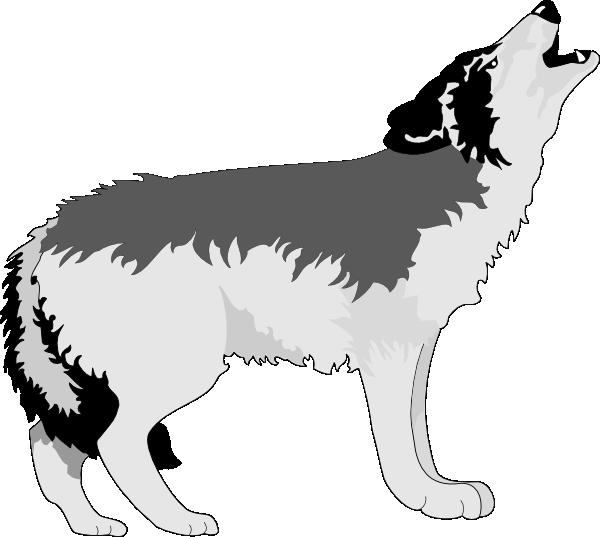 Wolves clipart dancing. Wolf howling clip art