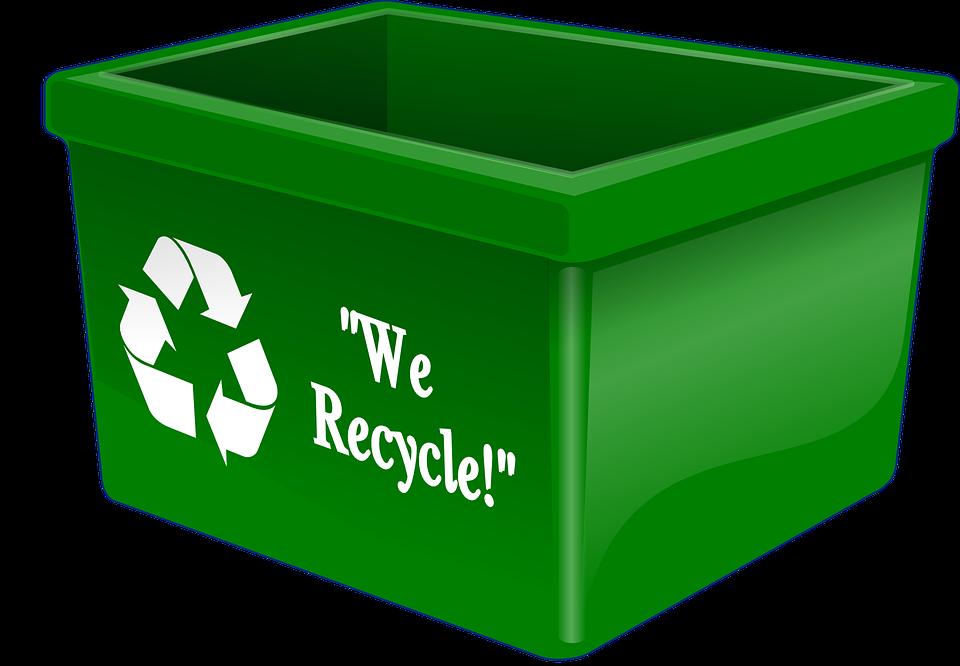 Recycling initiative plan for. Clipart water bin