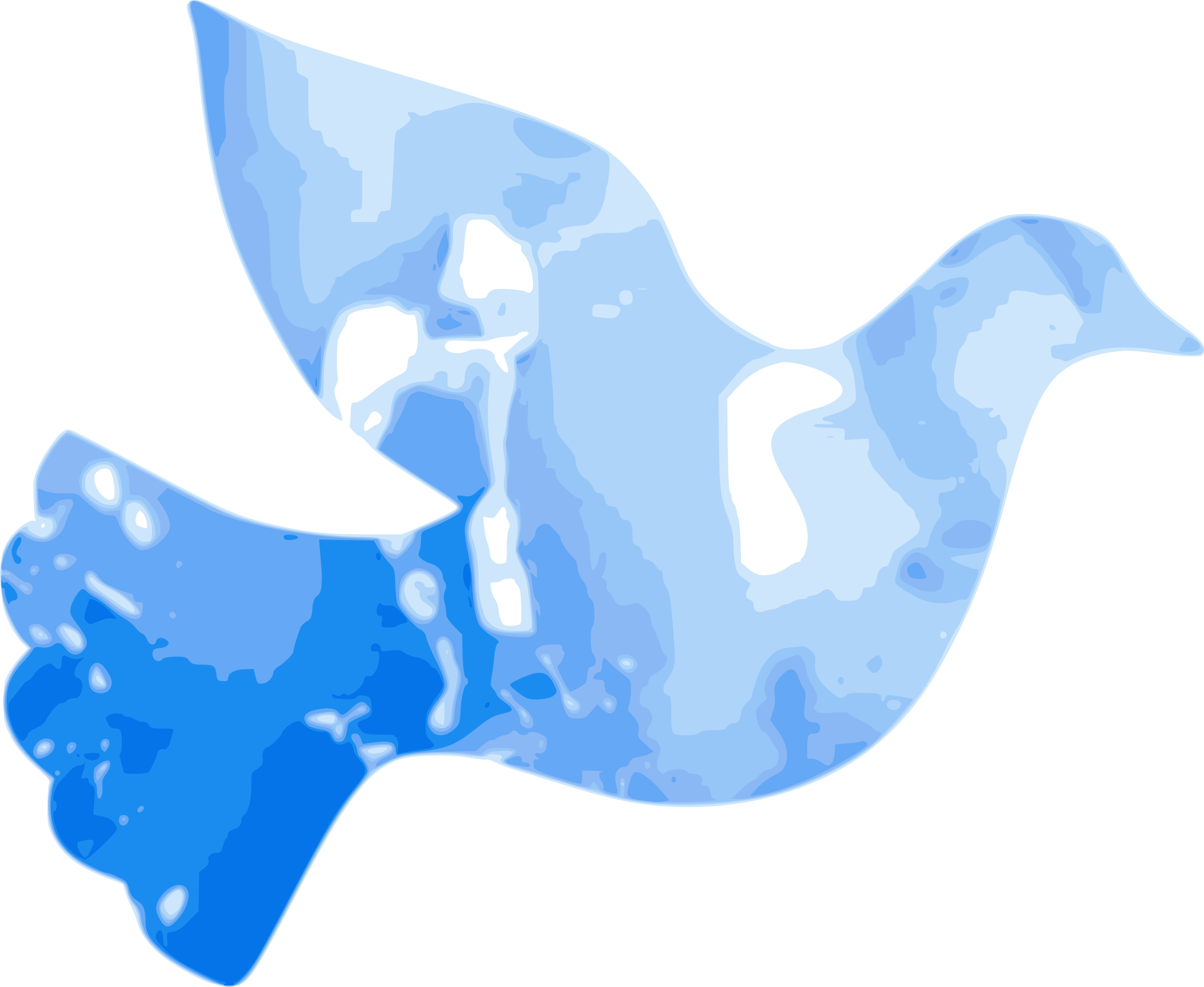 Dove big image png. Clipart water blue