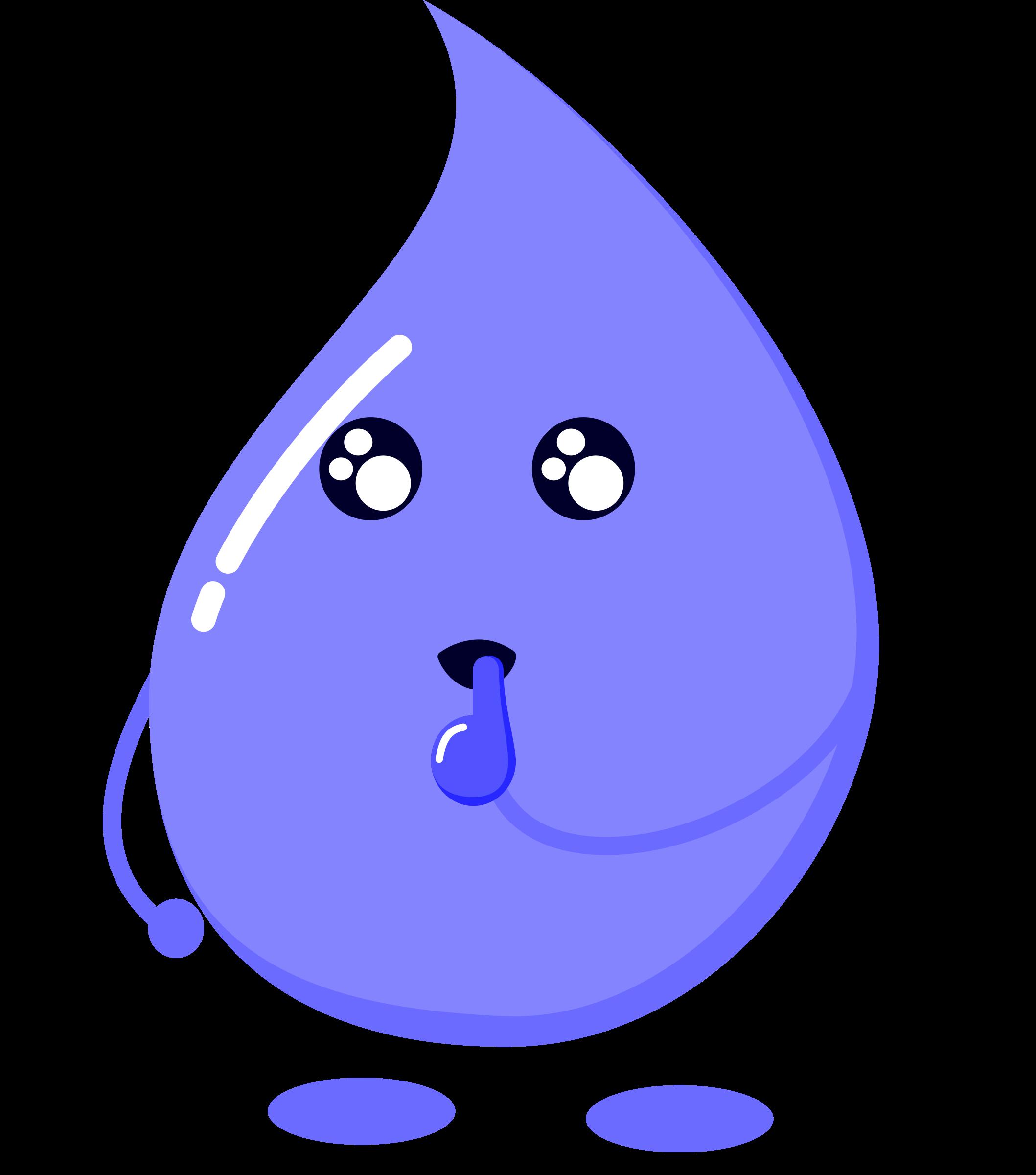 Water clipart water droplet. Drop wonder big image
