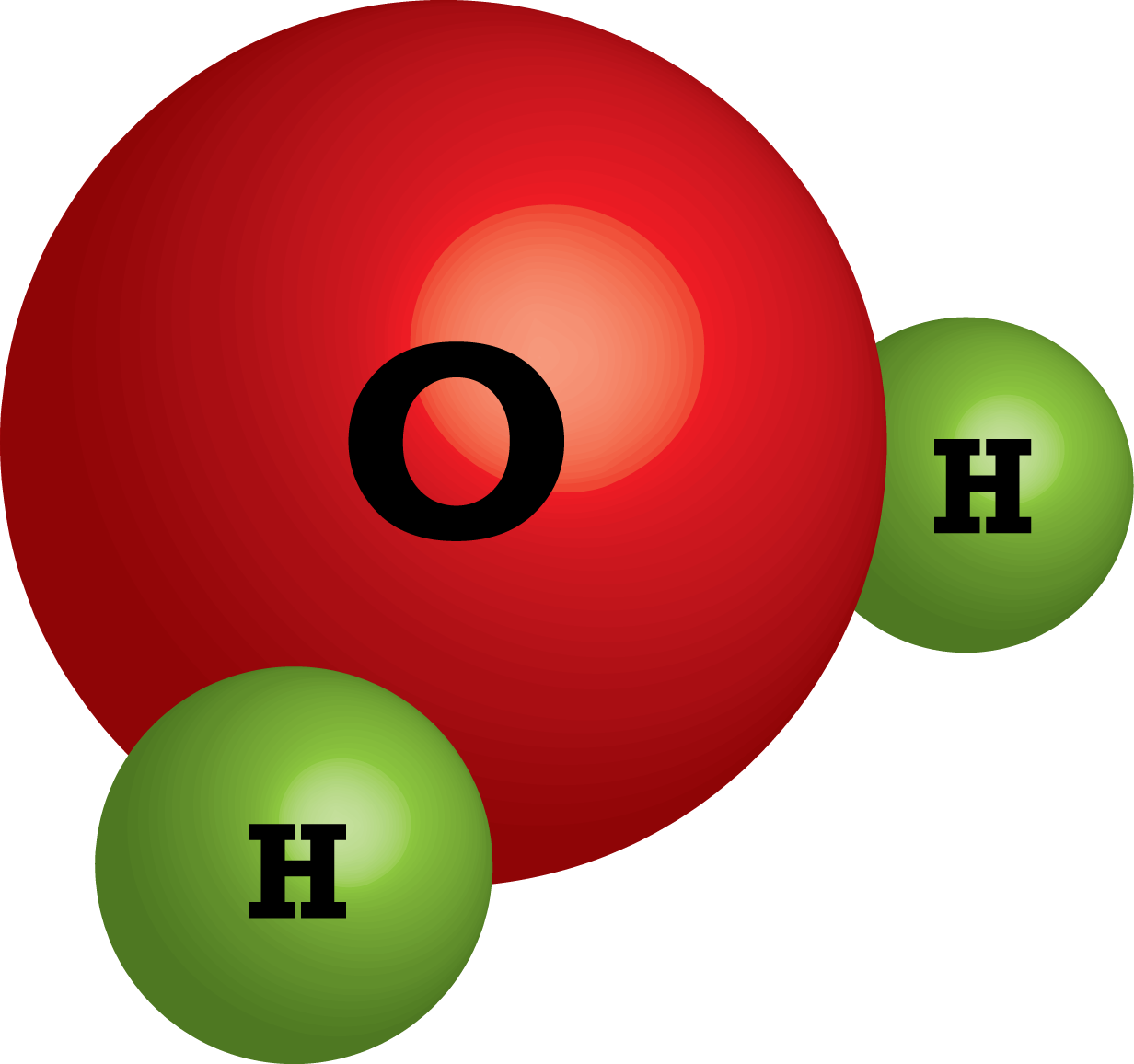 Water clipart compound. Poutama science atoms are