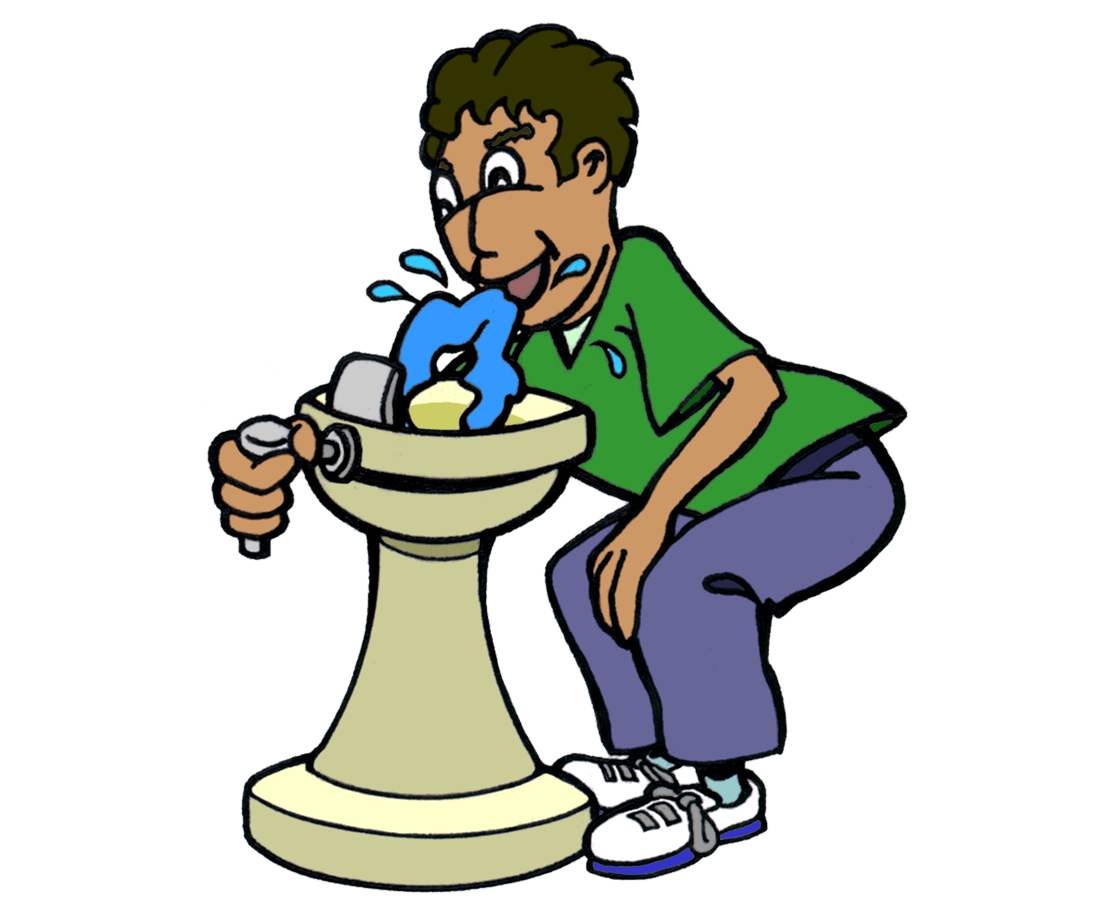 Bio benefits ology science. Water clipart drinking fountain