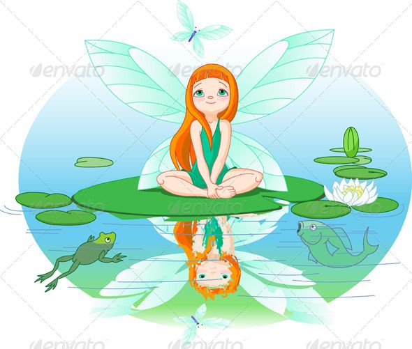 Fairies clipart water. Pin by felix robinsono