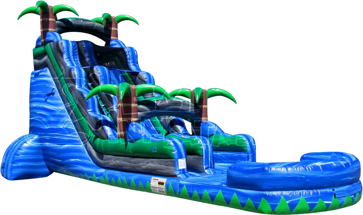 Reservation form for party. Water clipart inflatable