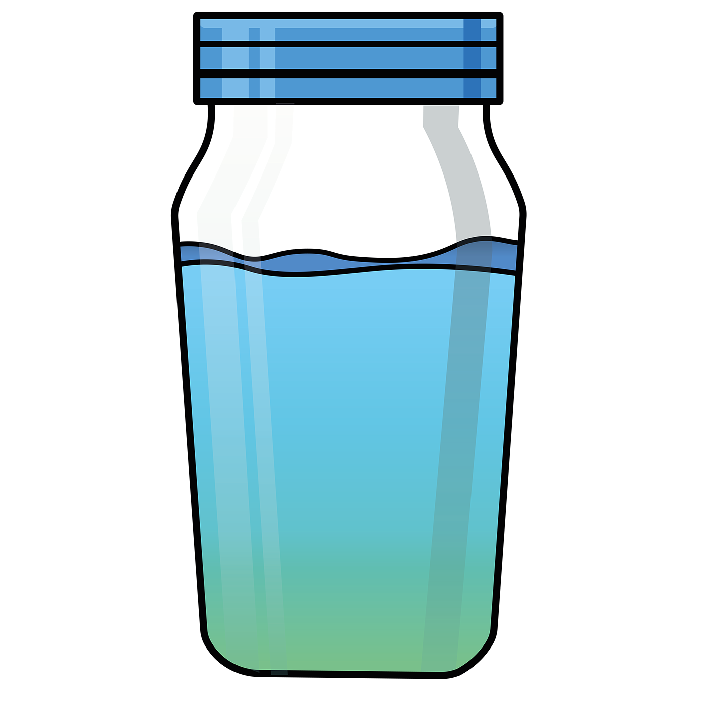 Water clipart juice. Slurp illustration on behance