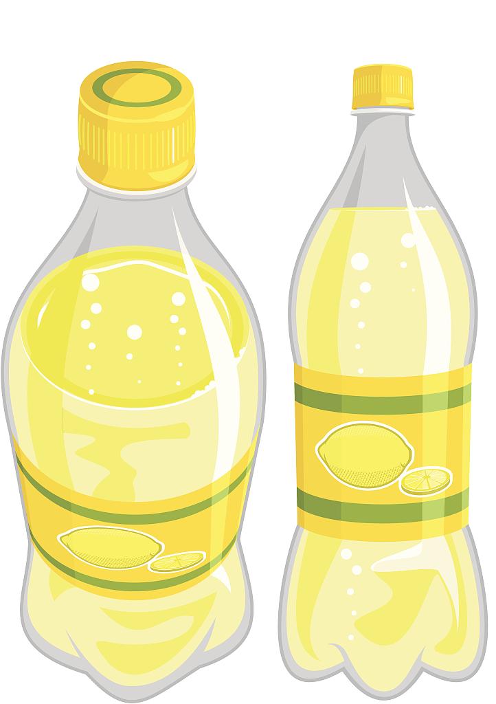Soft drink juice lemonade. Flour clipart oil