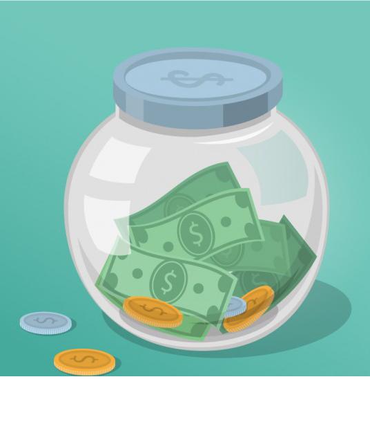 Money jar saving clip. Working clipart finances