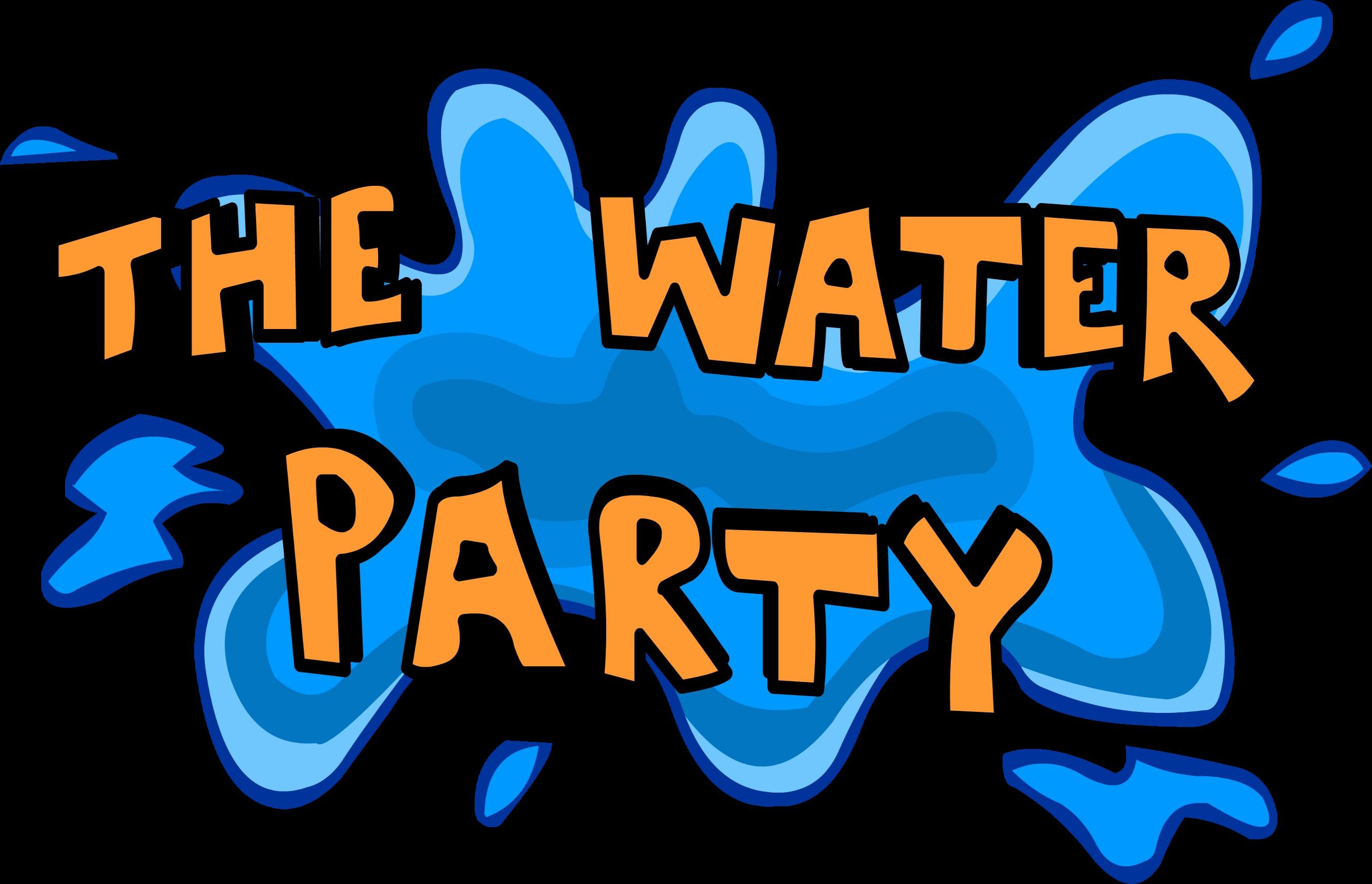 Club penguin wiki fandom. Party clipart water