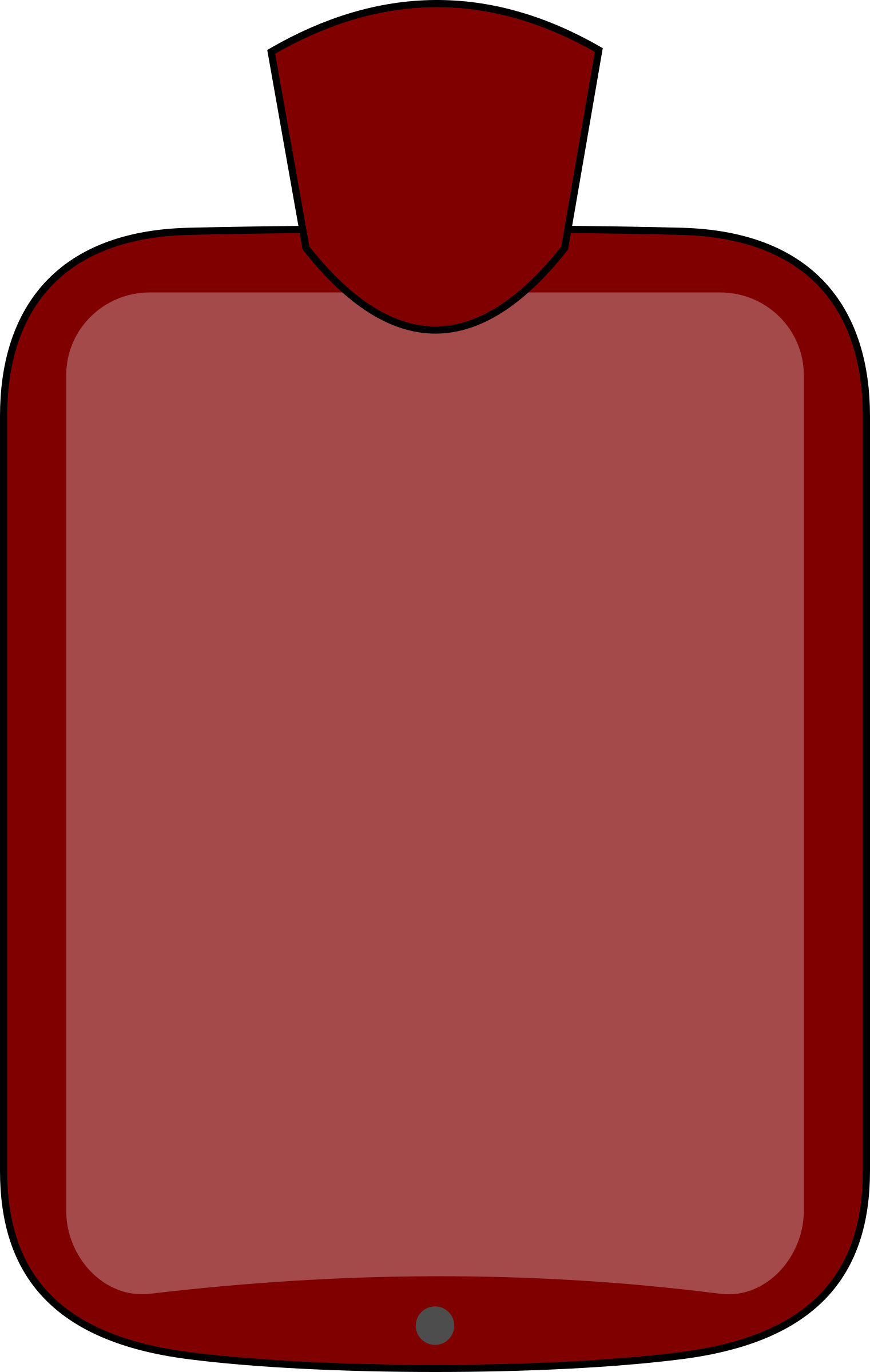 Water clipart red. Hot bottle big image