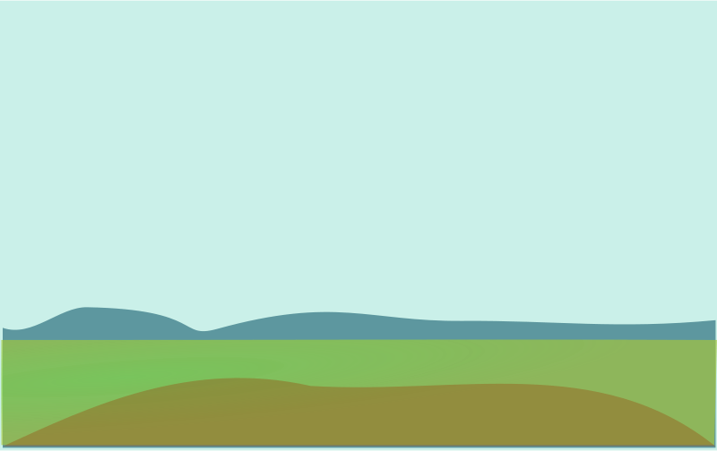 Hills clipart hill scenery. Lanscape frames illustrations hd