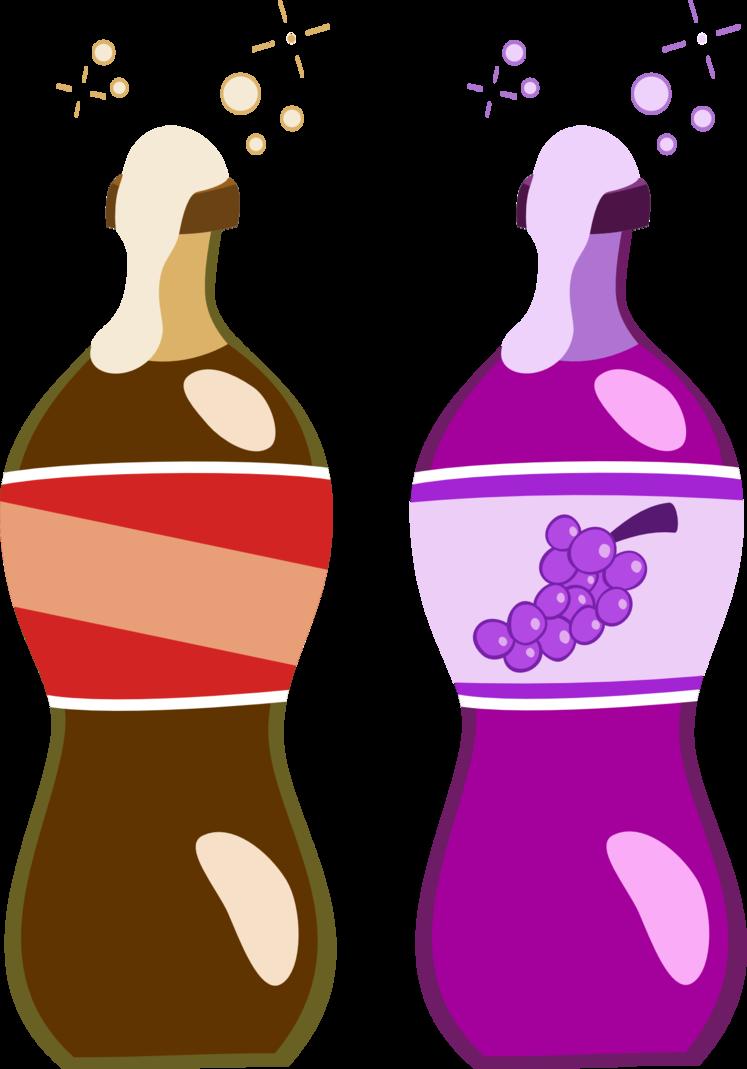 Bottle cutie mark request. Pin clipart grape soda
