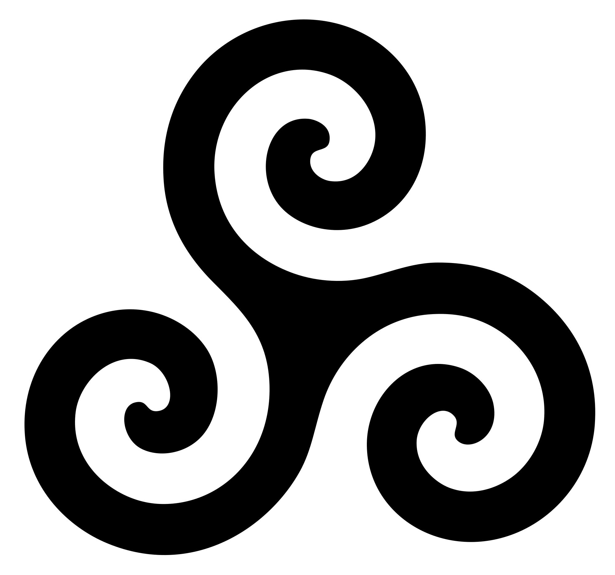 Future clipart journey life. File triskele symbol svg