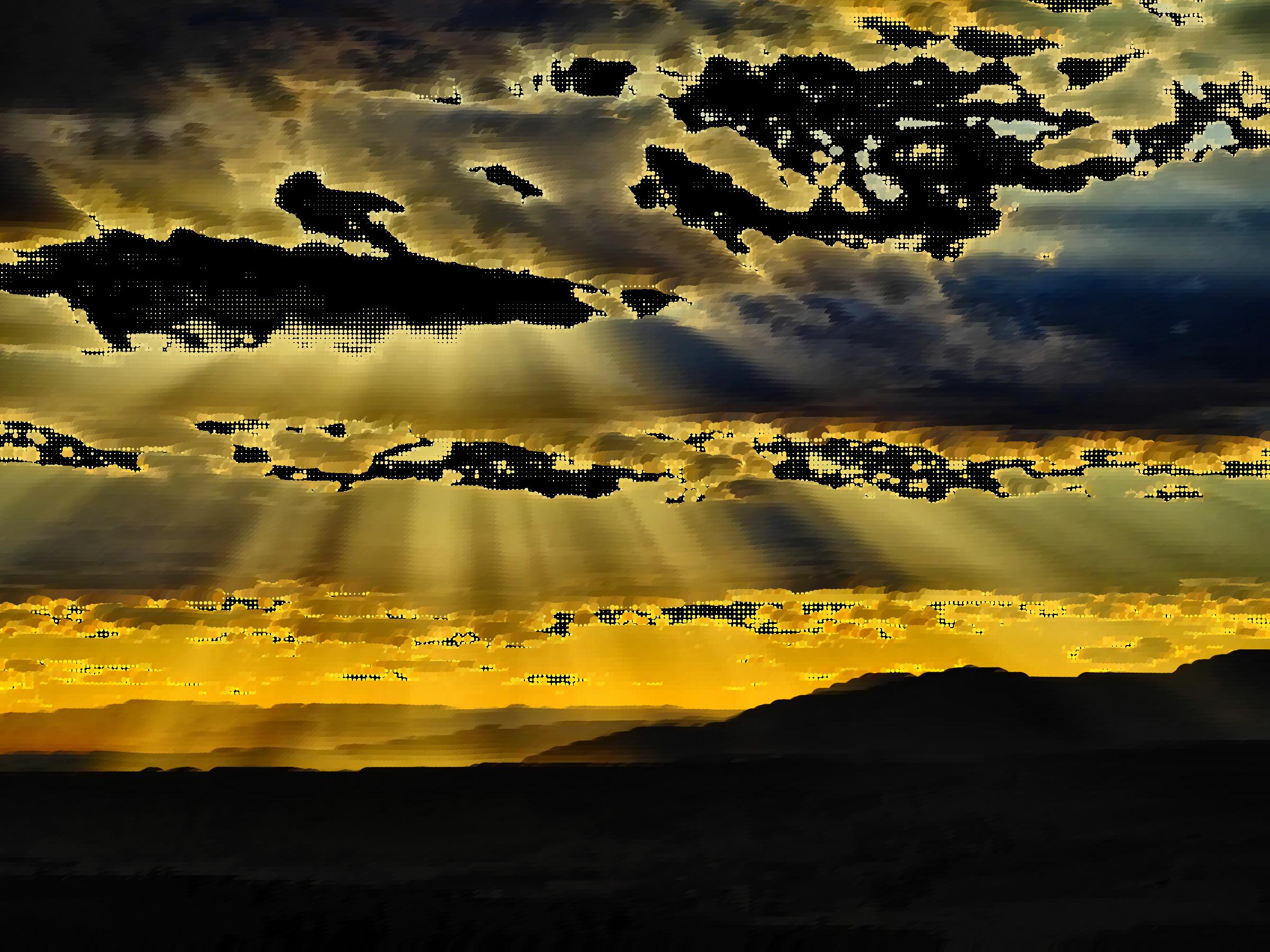 Sunset clipart sunset sky. Surreal cloudy big image