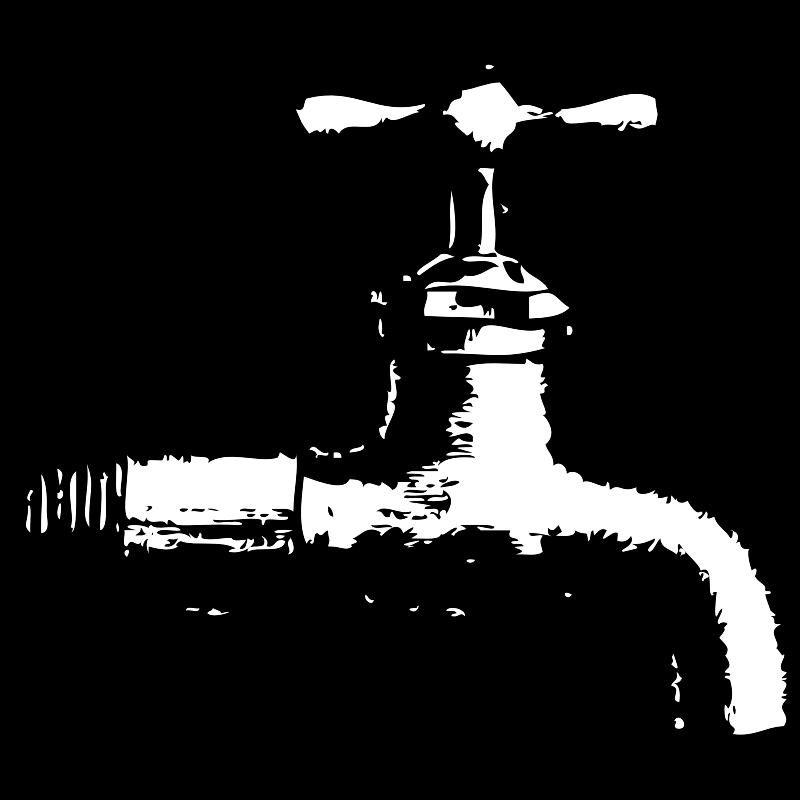 Water clipart tap water. Plumbing clip art faucet