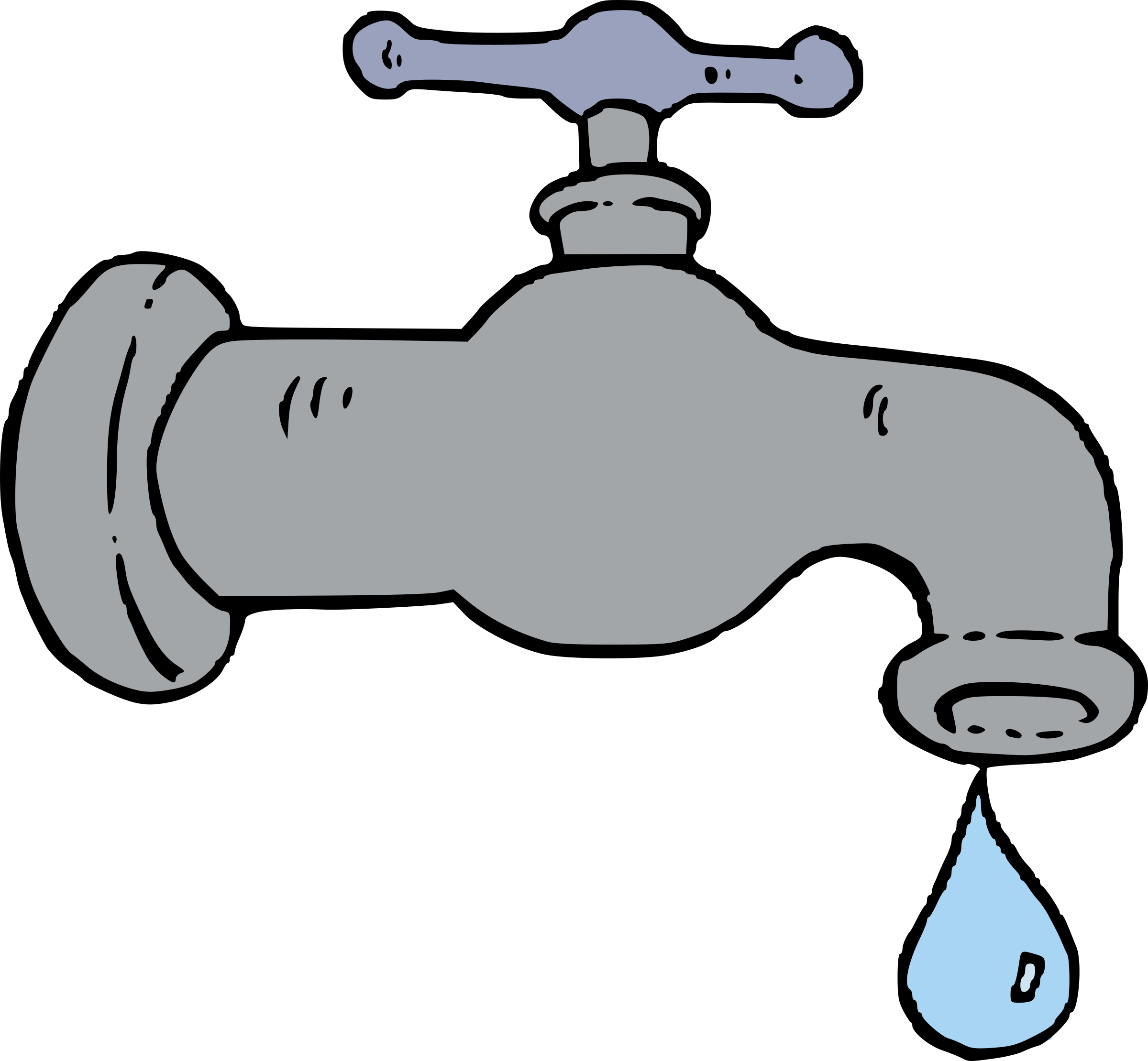 collection of water. Plumber clipart dripping faucet