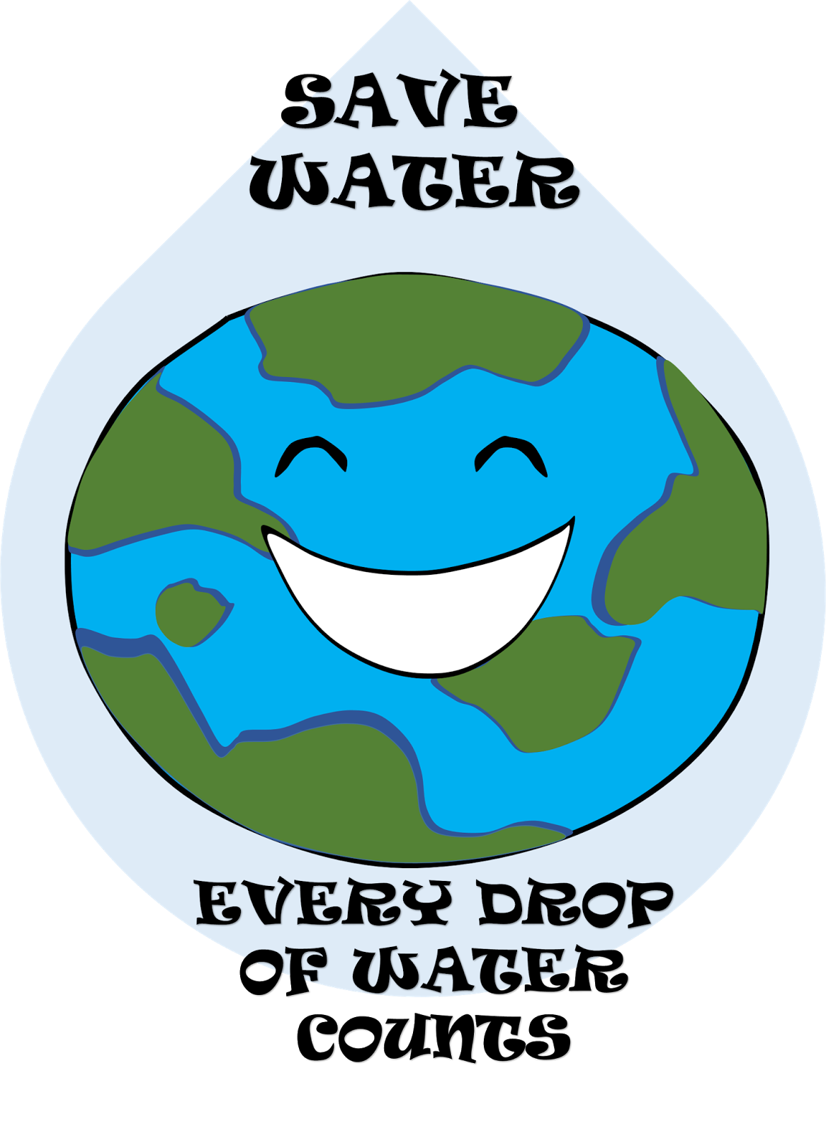 Save poster google search. Water clipart water consumption