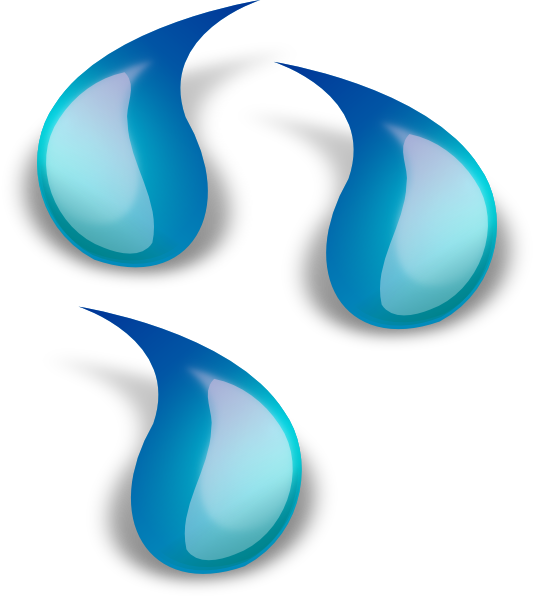 Droplets clip art at. Water clipart water droplet