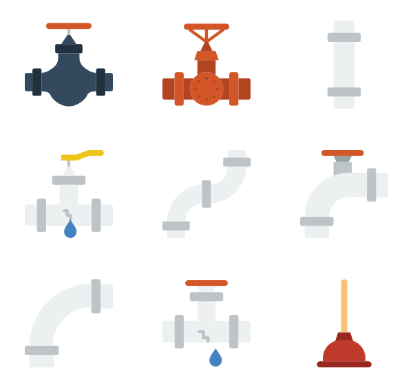 pipe icon packs. Water clipart water flow
