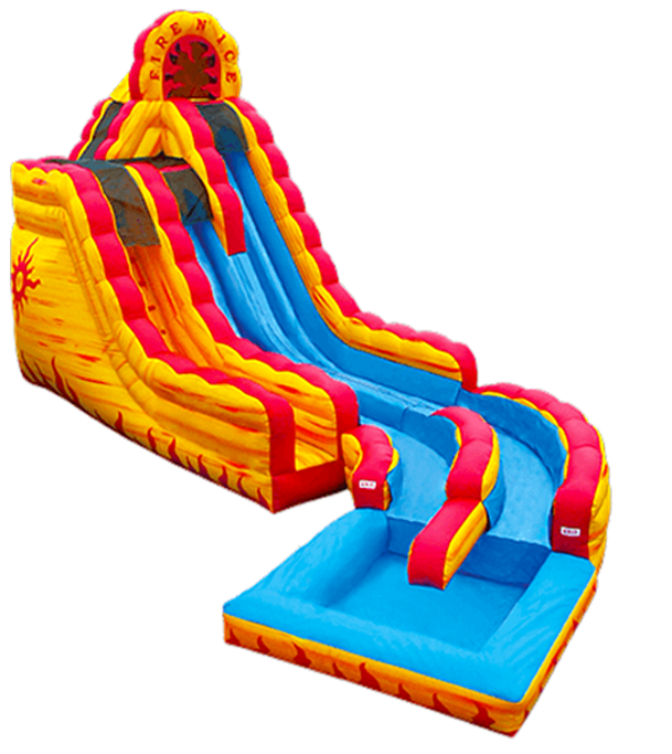 Water clipart water slide. Bounce house rental blow