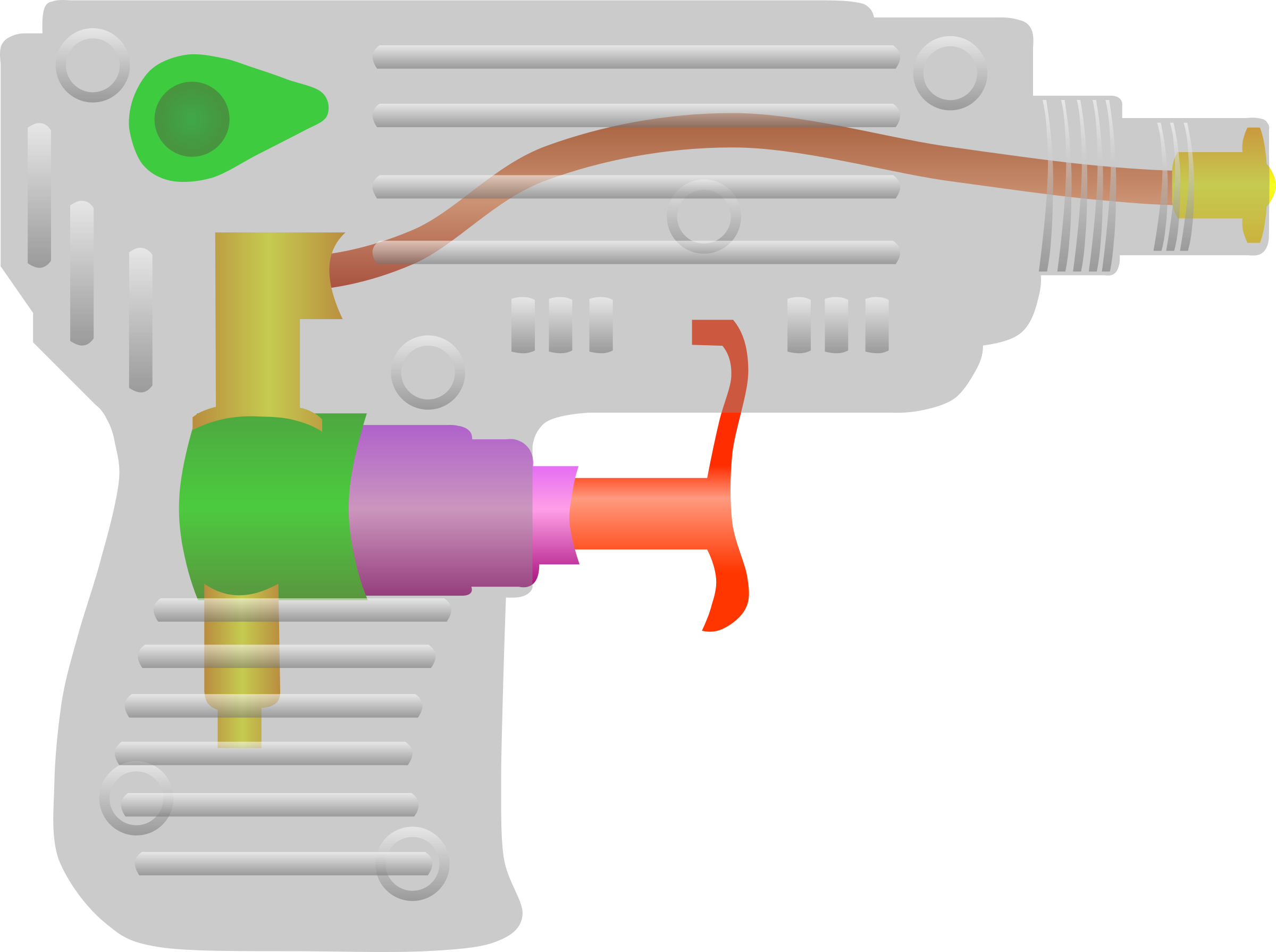 Water clipart water system. Gun