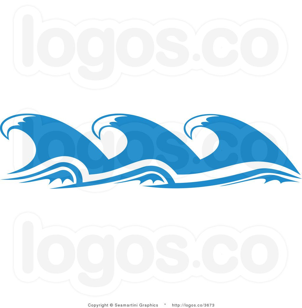 Ocean waves panda free. Clipart wave