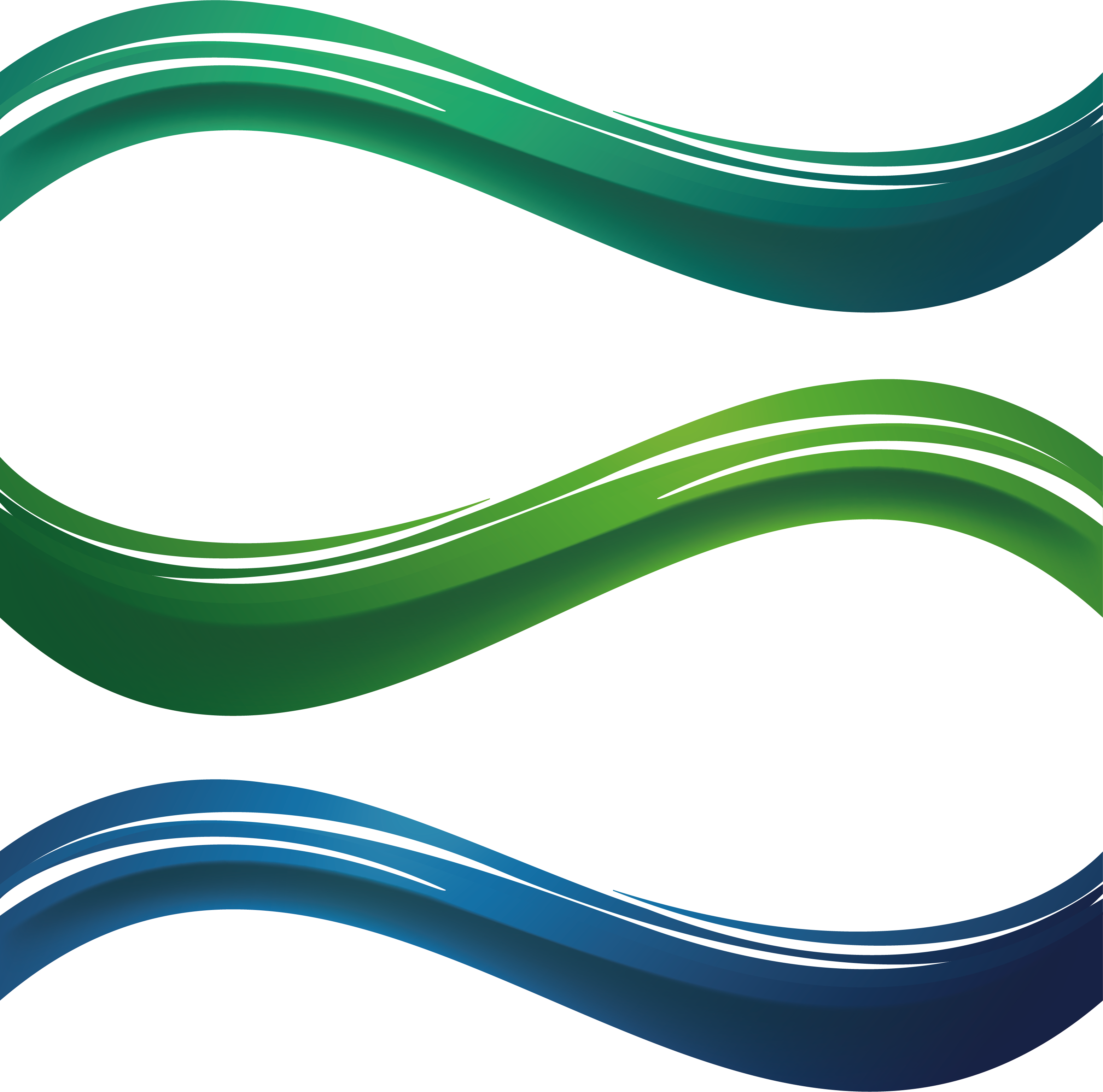 Clipart wave abstract. Green pattern transprent png