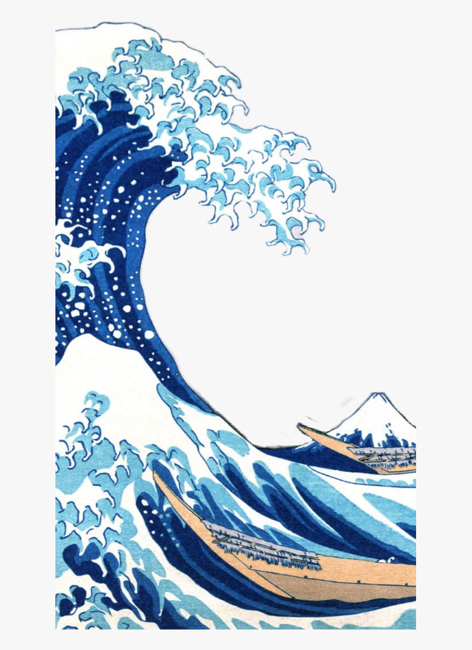 Wave png great iphone. Waves clipart aesthetic