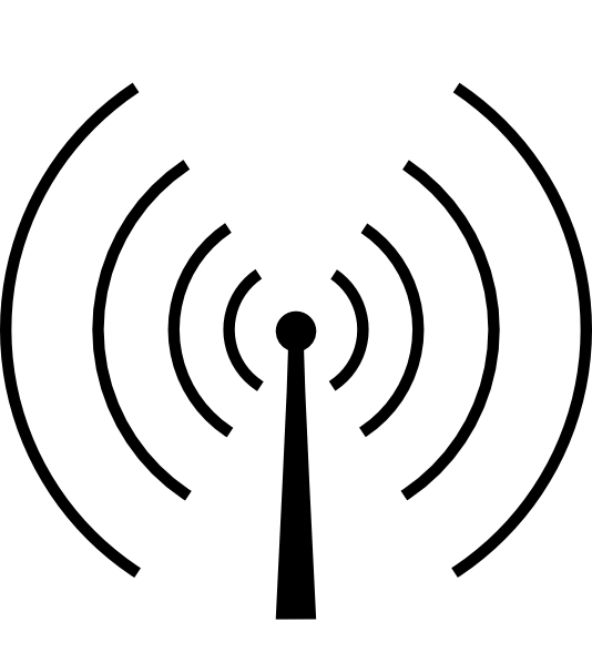 Wave clip art at. Waves clipart radio