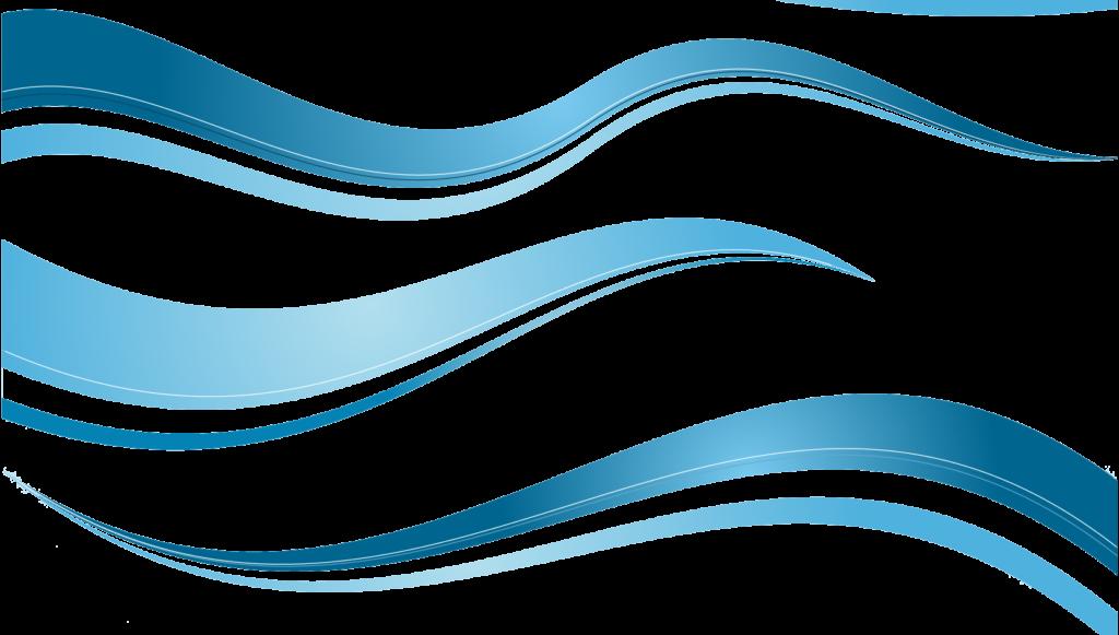 Waves clipart wave vector. Blue set backgrounds png
