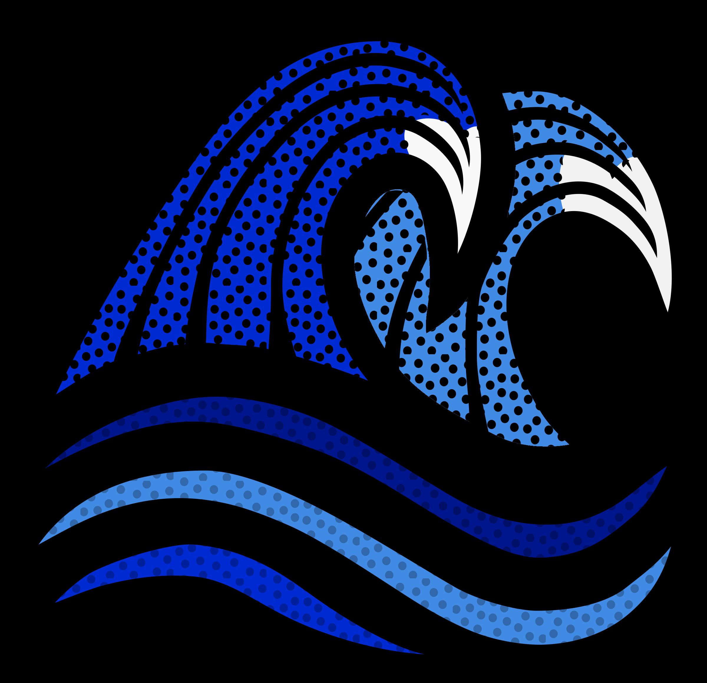 Coloured big image png. Waves clipart symbol