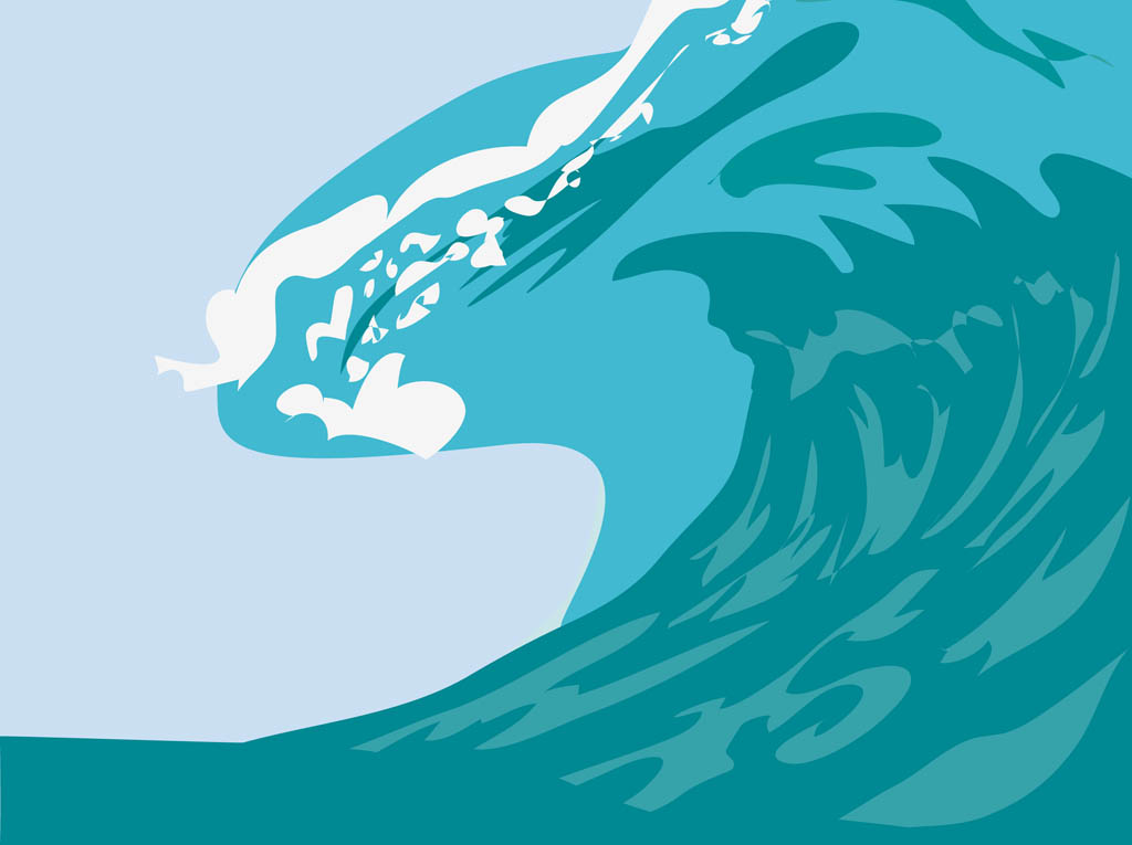 Free cartoon wave download. Waves clipart animated