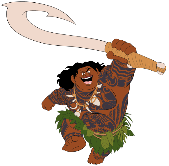 Waves clipart cartoon clip art. Moana disney galore