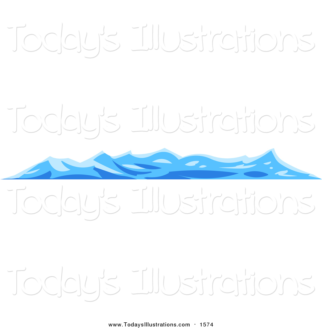 Of blue waves on. Clipart wave choppy water