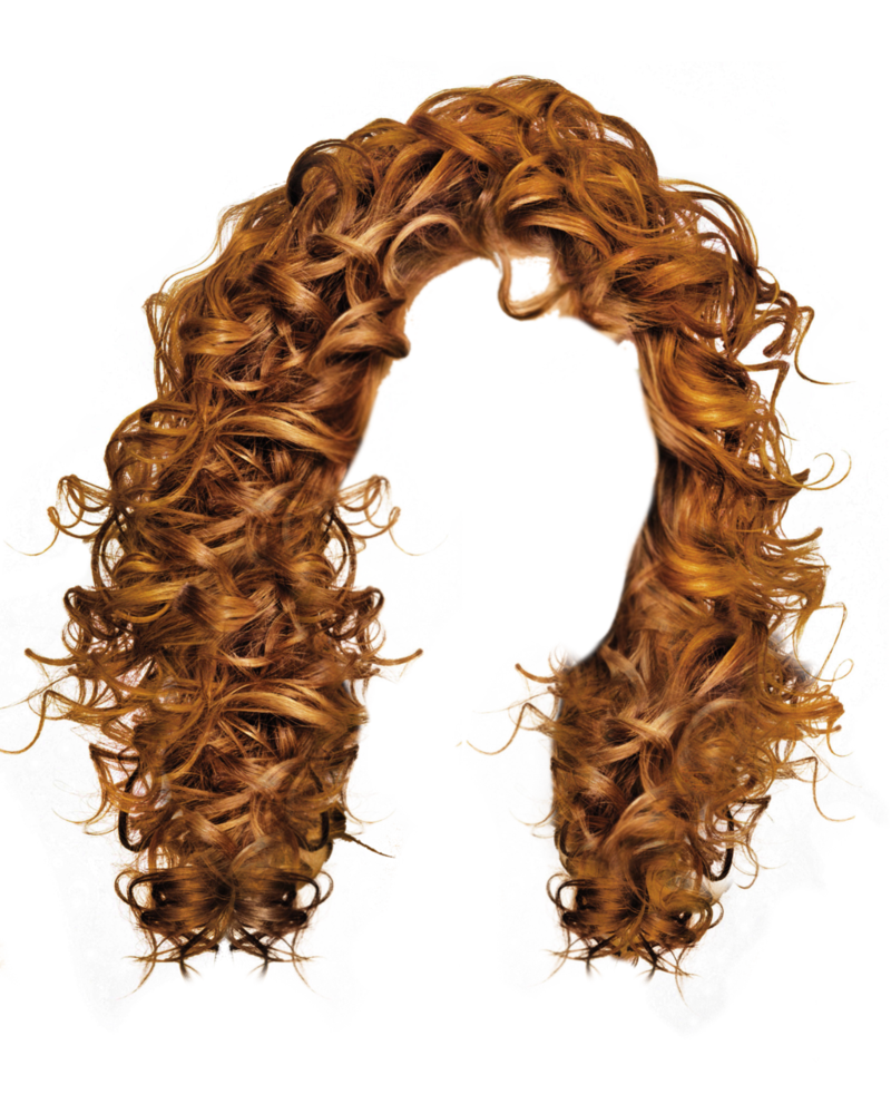 Wet clipart wig. Hair png by moonglowlilly