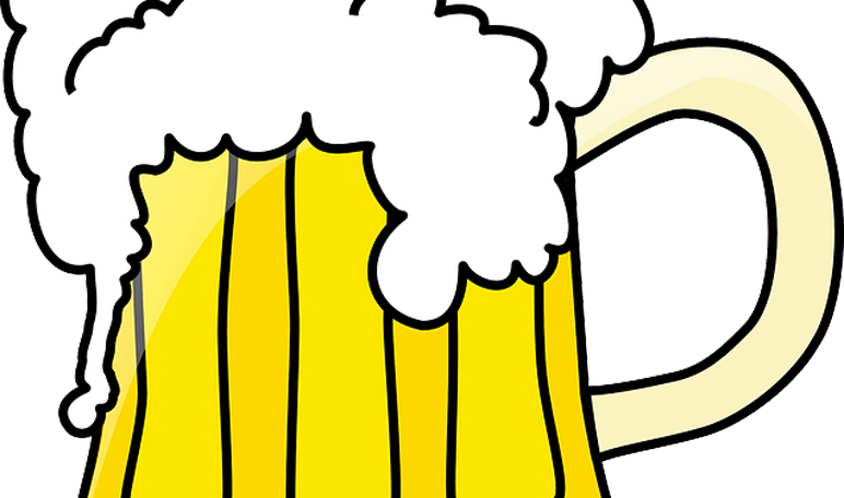 Your hair with beer. Clipart wave curl
