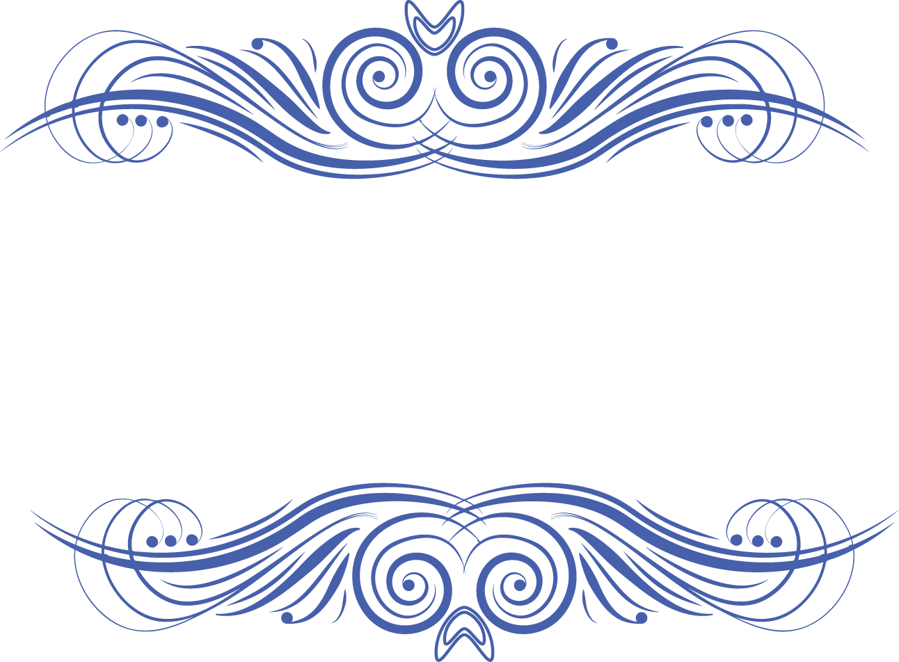 Picture frame pattern ancient. Waves clipart cute