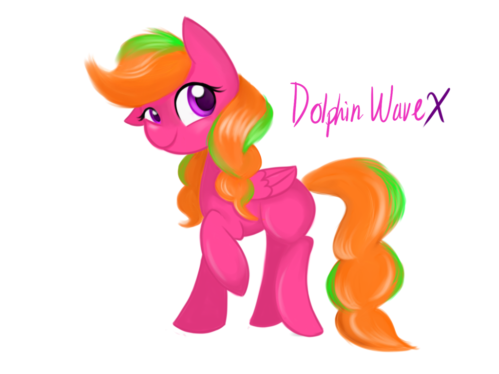 Art trade with wave. Clipart waves dolphin