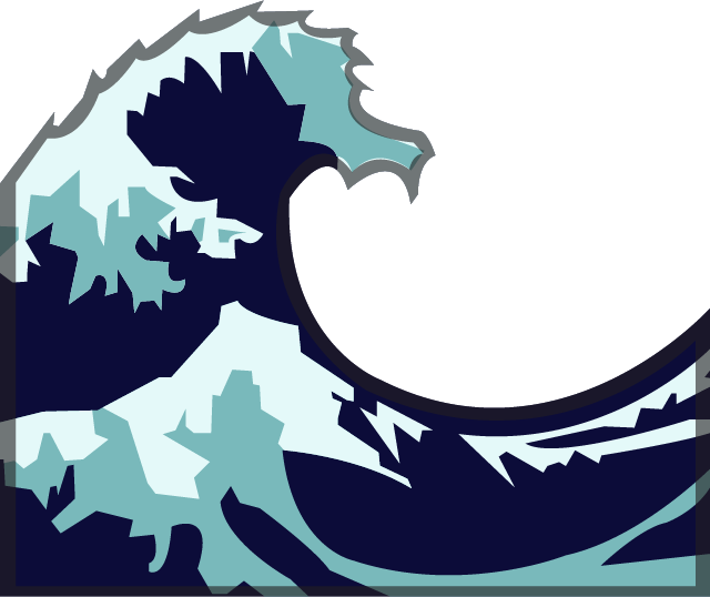 Download water emoji image. Waves clipart wave design