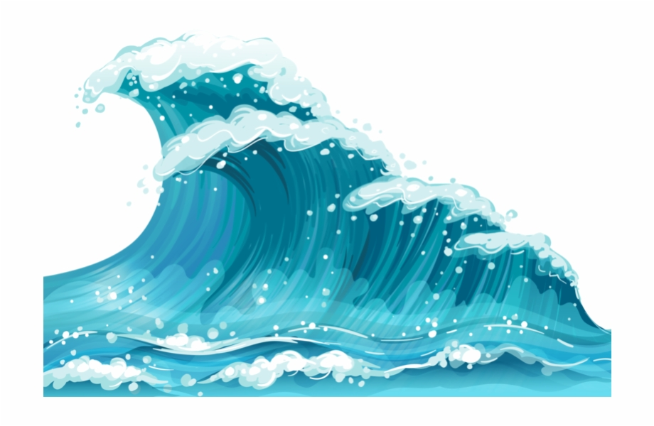 This png file is. Waves clipart cool wave