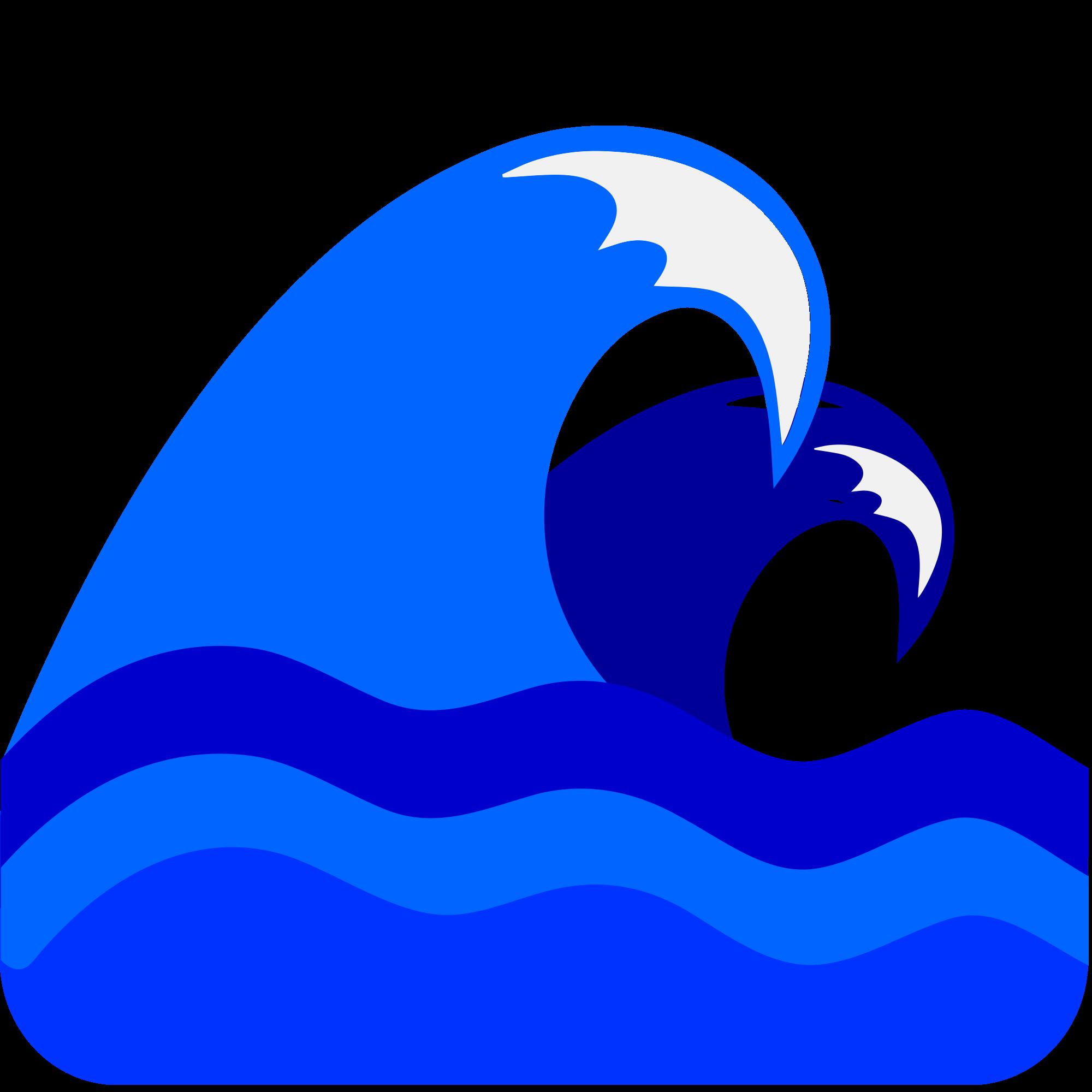 Blue sea svg wikimedia. Clipart wave file