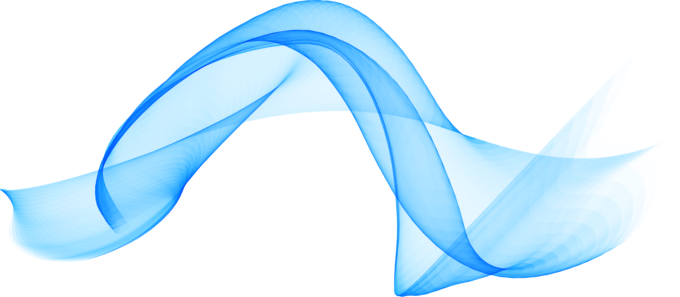 Clipart wave file. Blue computer technology ripples
