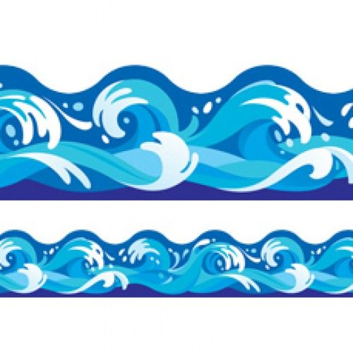 Waves clipart frame. Cliparts zone