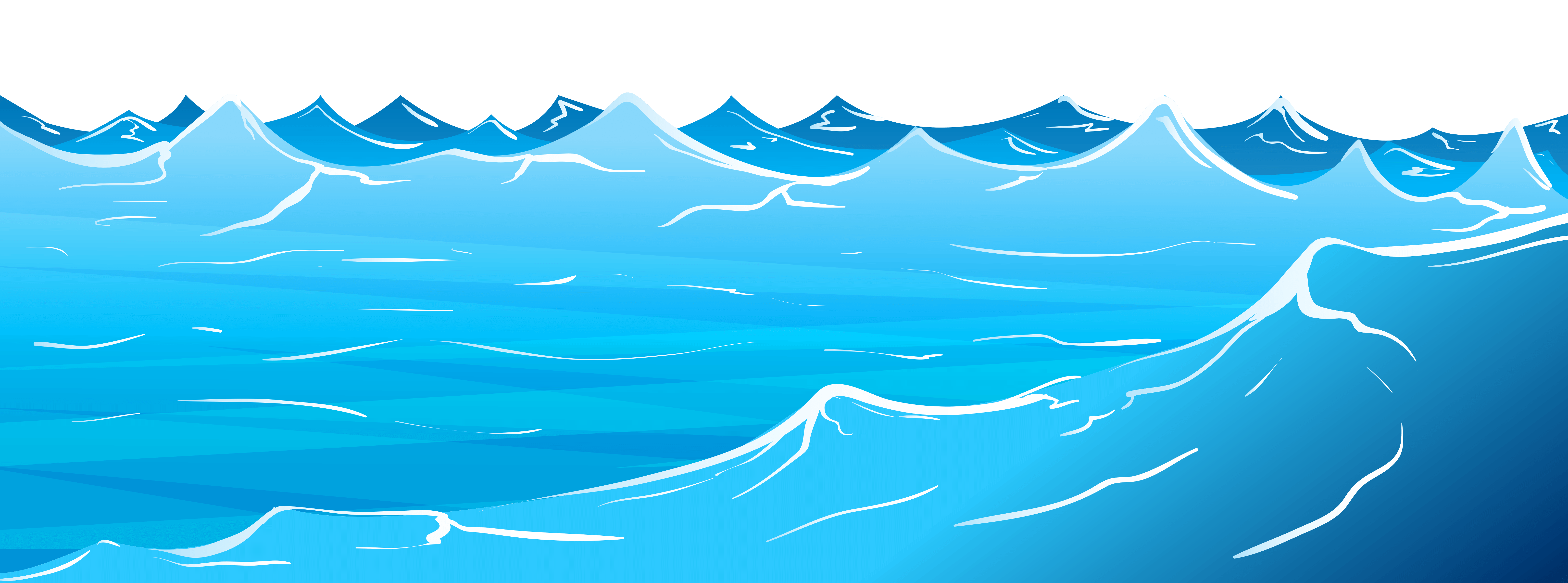 Waves clipart freshwater. Clear background frames illustrations