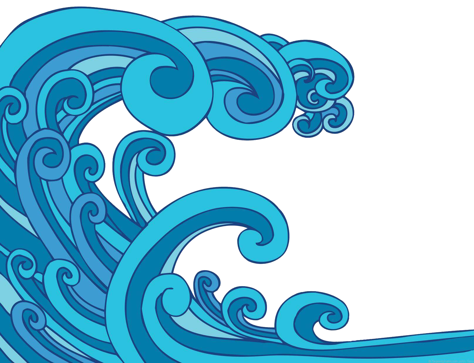 Waves clipart huge wave.  collection of tide