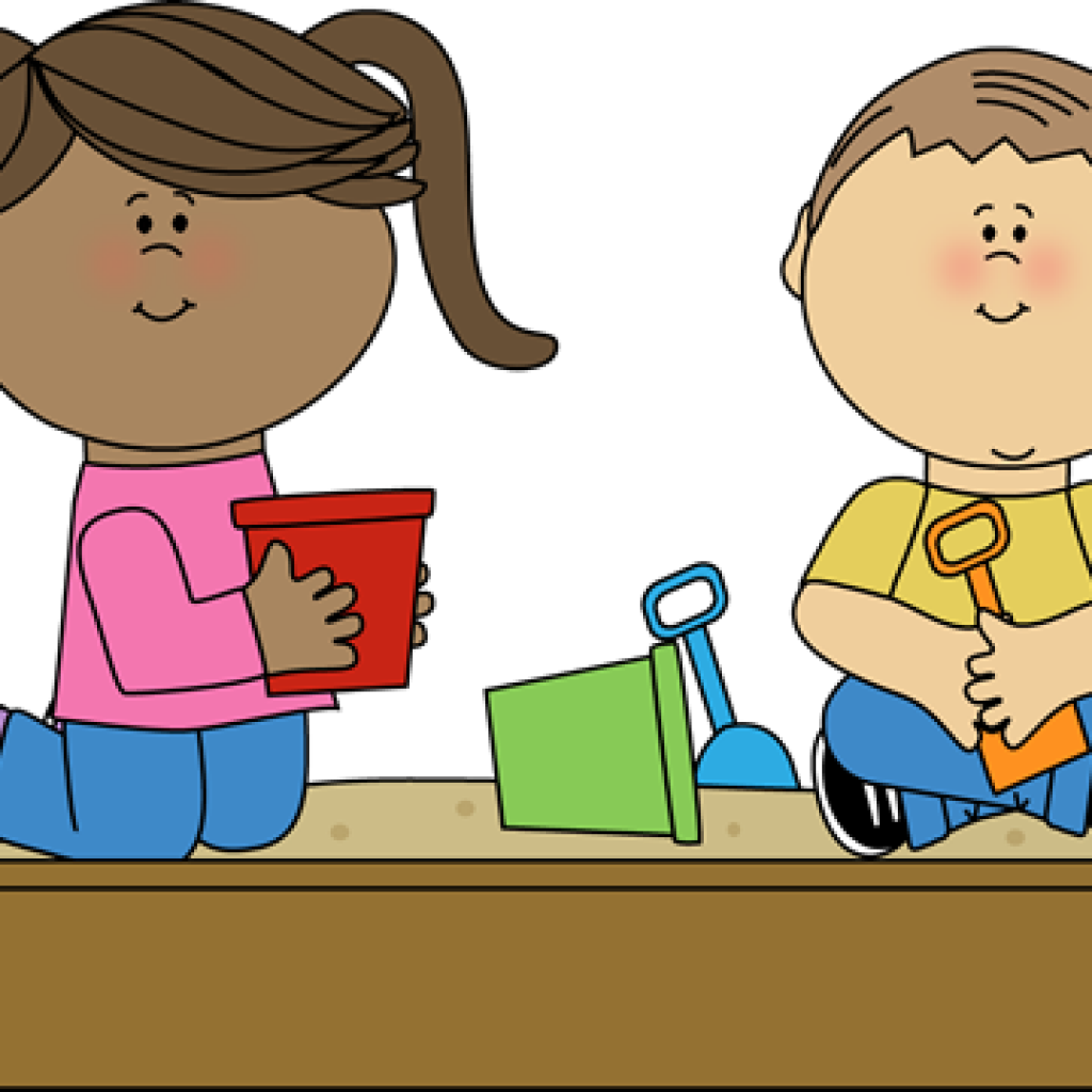 Kids playing wave hatenylo. Waves clipart kid