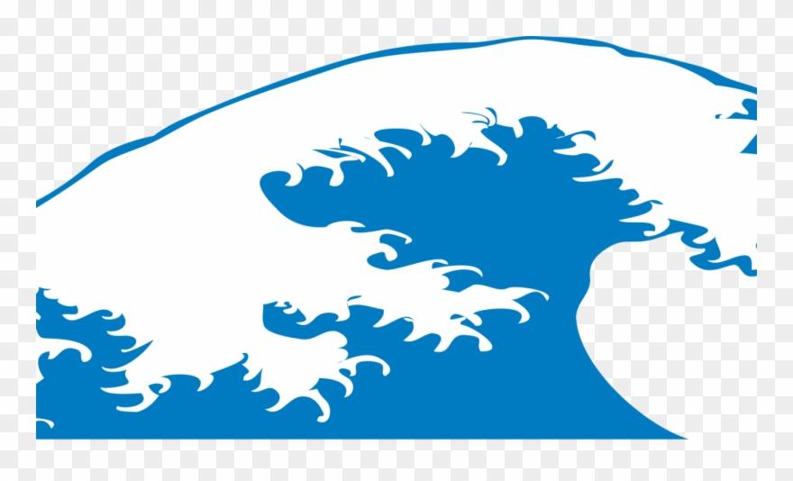 clipart waves big wave