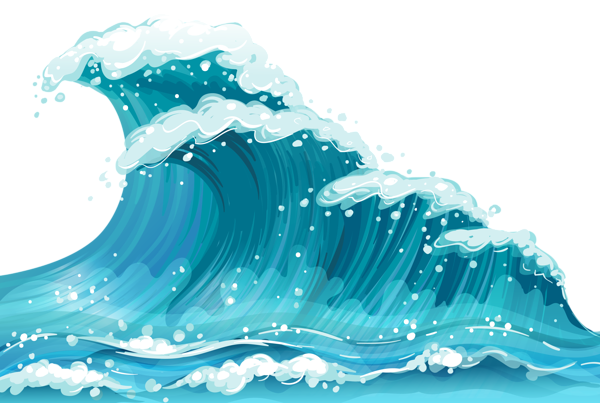 Pin by maddie k. Waves clipart moana