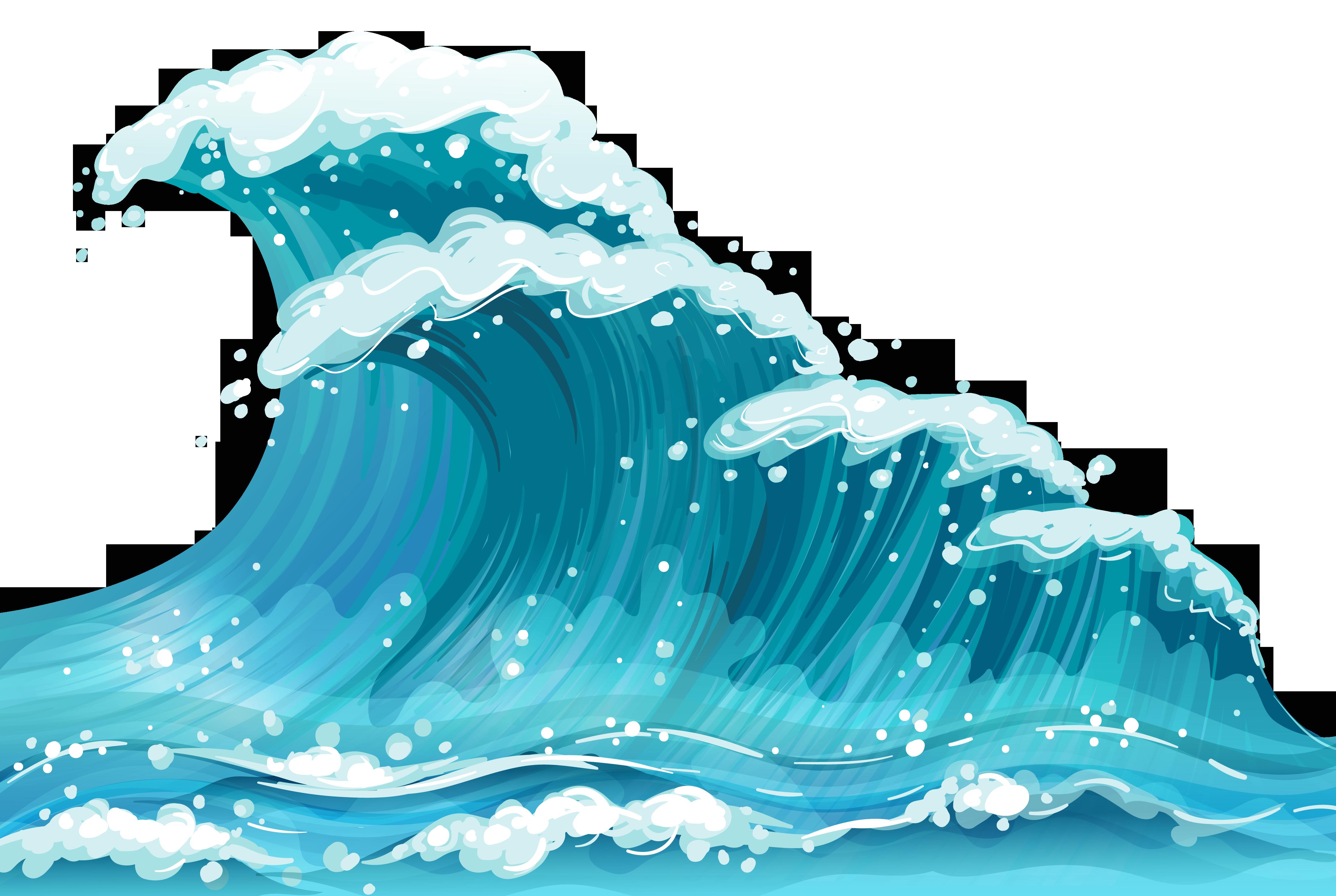Waves clipart sea wave. Wind clip art ground
