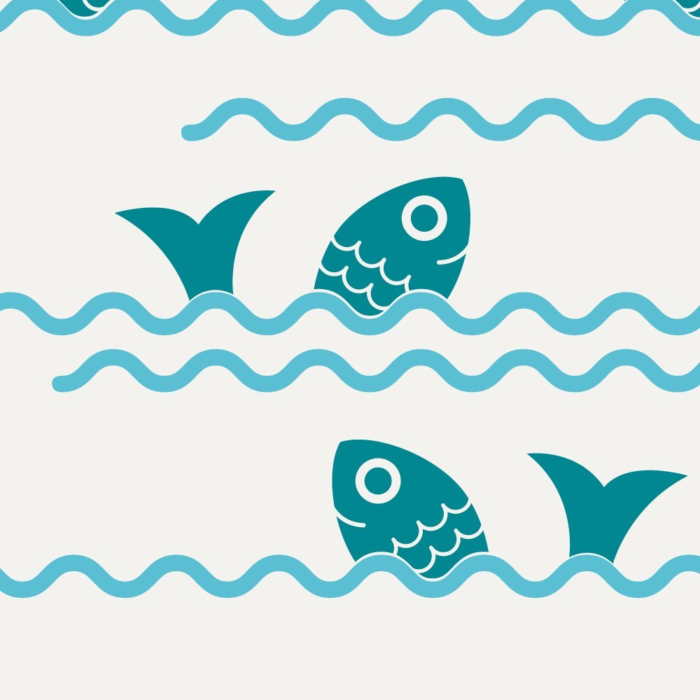 Free wave border cliparts. Waves clipart printable